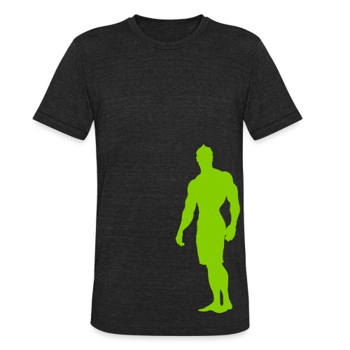 Mens Physique T-Shirt - Unisex Tri-Blend T-Shirt by American Apparel