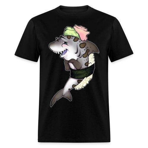 Leopard Sushi Shark - Men's T-Shirt