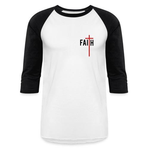 YungLife: Have Faith in Christ Men's Baseball T-Shirt - Baseball T-Shirt