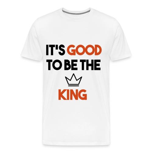 Mens King Tee - Men's Premium T-Shirt