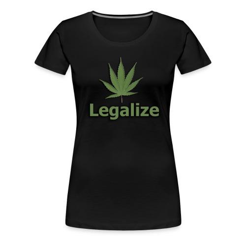 Legalize  - Women's Premium T-Shirt