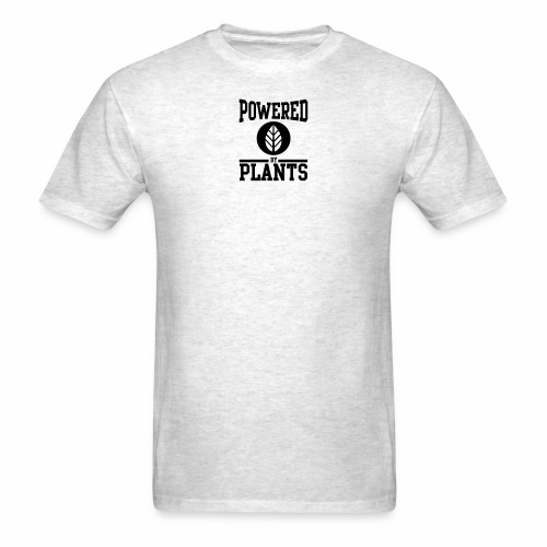 Powered by Plants - Men's T-Shirt