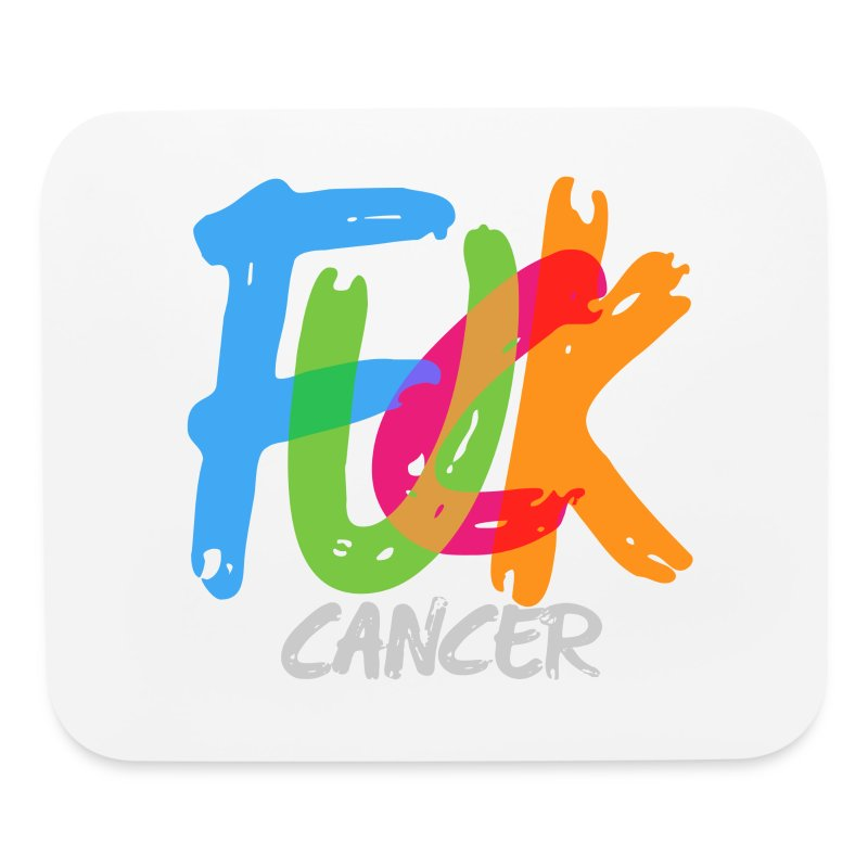Fuck Cancer Mouse Pad - Mouse pad Horizontal