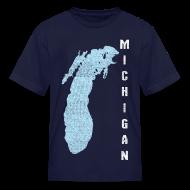 Kids' Shirts ~ Kids' T-Shirt ~ Just Lake Michigan