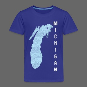 Just Lake Michigan - Toddler Premium T-Shirt