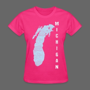 Just Lake Michigan - Women's T-Shirt