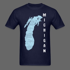 Just Lake Michigan - Men's T-Shirt