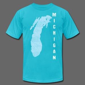 Just Lake Michigan - Men's Fine Jersey T-Shirt