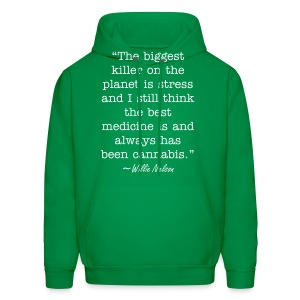 Willie Nelson Quote - Men's Hoodie