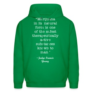 Judge Francis Young Quote Hoodie - Men's Hoodie