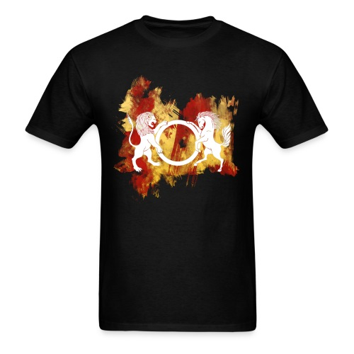 amishka new copy.png - Men's T-Shirt