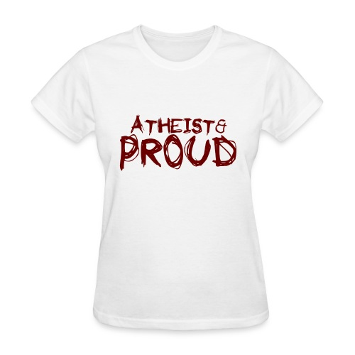 atheist_designs.png - Women's T-Shirt