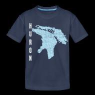 Baby & Toddler Shirts ~ Toddler Premium T-Shirt ~ Just Lake Huron
