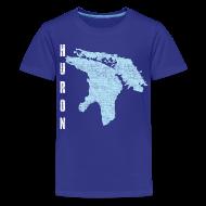 Kids' Shirts ~ Kids' Premium T-Shirt ~ Just Lake Huron