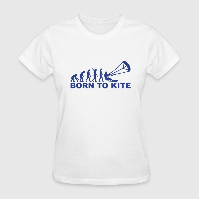 Evolution Born to Kite Women's T-Shirts - Women's T-Shirt