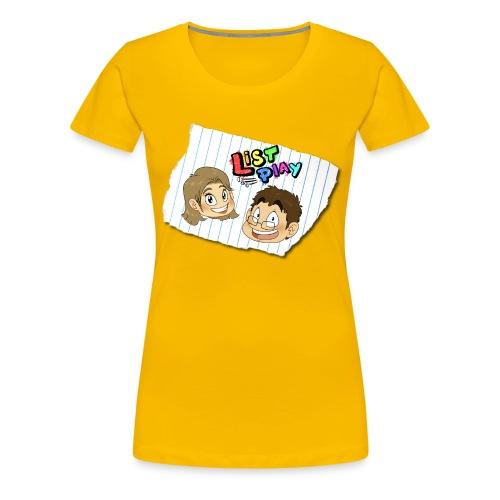Women's List Play Bob and Mandy Shirt - Women's Premium T-Shirt