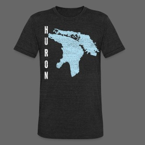 Just Lake Huron - Unisex Tri-Blend T-Shirt by American Apparel