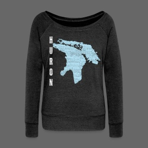 Just Lake Huron - Women's Wideneck Sweatshirt