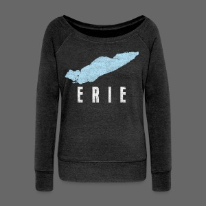Just Lake Erie - Women's Wideneck Sweatshirt