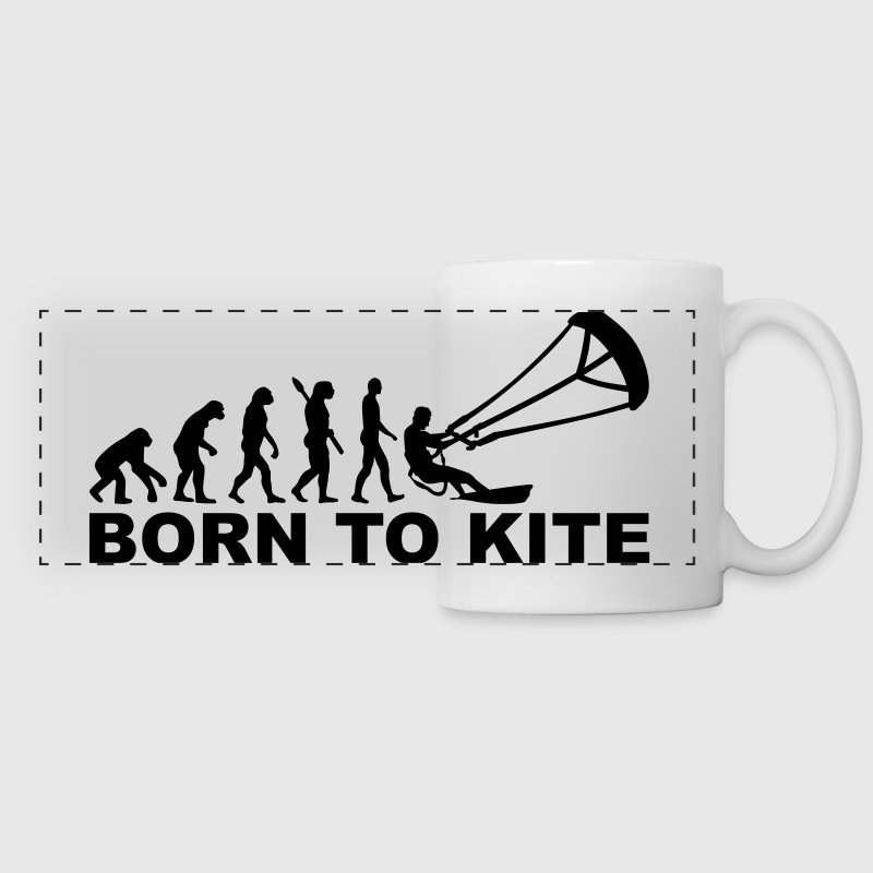 Evolution Born to Kite Accessories - Panoramic Mug