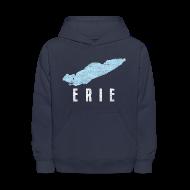 Sweatshirts ~ Kids' Hoodie ~ Just Lake Erie