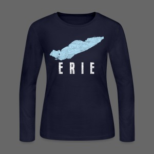 Just Lake Erie - Women's Long Sleeve Jersey T-Shirt