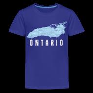 Kids' Shirts ~ Kids' Premium T-Shirt ~ Just Lake Ontario