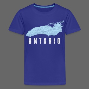 Just Lake Ontario - Kids' Premium T-Shirt