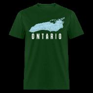 T-Shirts ~ Men's T-Shirt ~ Just Lake Ontario