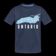 Baby & Toddler Shirts ~ Toddler Premium T-Shirt ~ Just Lake Ontario