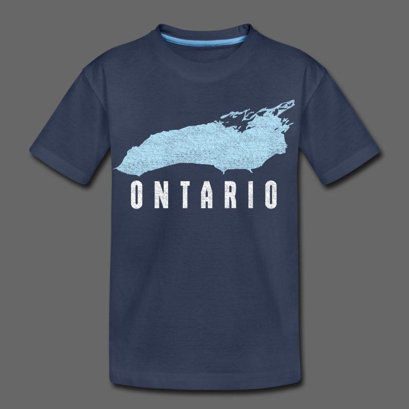 Just Lake Ontario - Toddler Premium T-Shirt