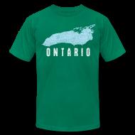T-Shirts ~ Men's T-Shirt by American Apparel ~ Just Lake Ontario