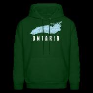 Hoodies ~ Men's Hoodie ~ Just Lake Ontario