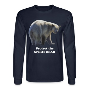 Sacred Spirit Bear - Men's Long Sleeve T-Shirt