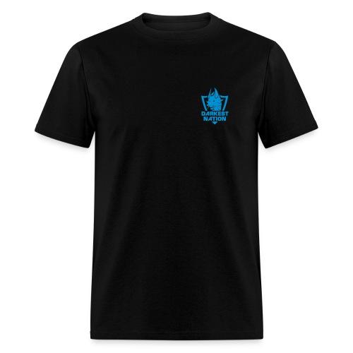 DN Standard T-Shirt - Sky Blue Logo - Men's T-Shirt