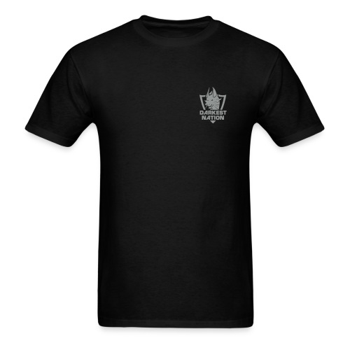 DN Standard T-Shirt - White Silver Logo - Men's T-Shirt