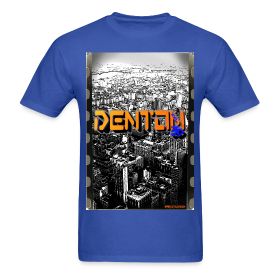 Personalized blox1 design for denton xxl custom made t for Custom tee shirts nyc