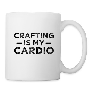 Crafting is my Cardio mug - Coffee/Tea Mug