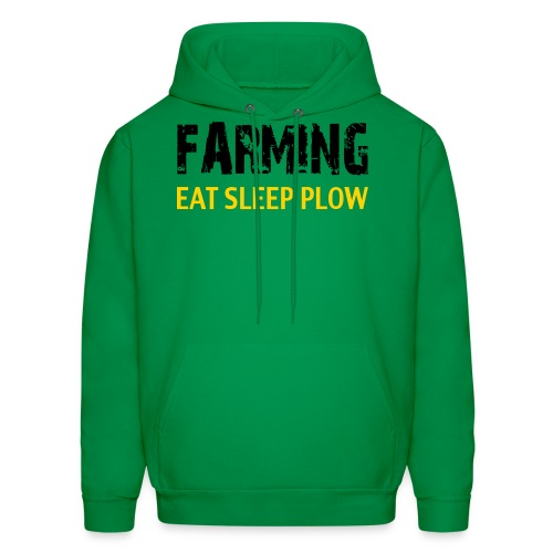 Farming Eat Sleep Plow US/Canada - Men's Hoodie