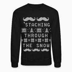 Staching Through The Snow Long Sleeve Shirts
