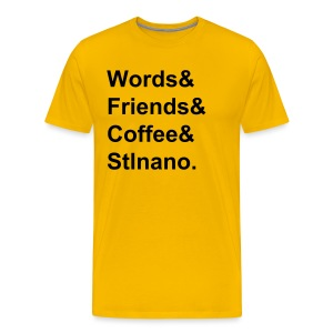 Words& tee - Men's Premium T-Shirt