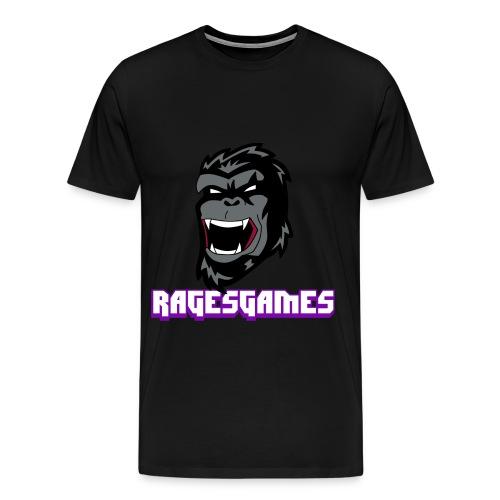 RagesGames Logo Mens Tee  - Men's Premium T-Shirt