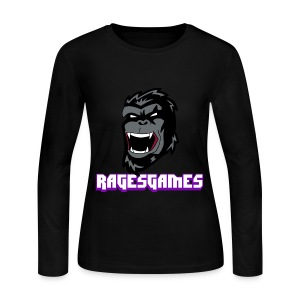 RagesGames Logo Girls Long Sleeve - Women's Long Sleeve Jersey T-Shirt