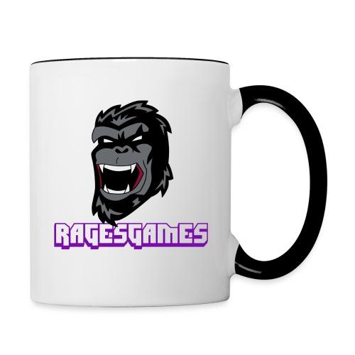 RagesGames Logo Mug - Contrast Coffee Mug