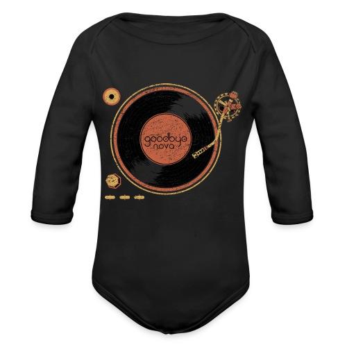 Goodbye Nova for babies!  - Organic Long Sleeve Baby Bodysuit