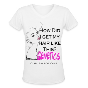 How do i....Genetics - Women's V-Neck T-Shirt
