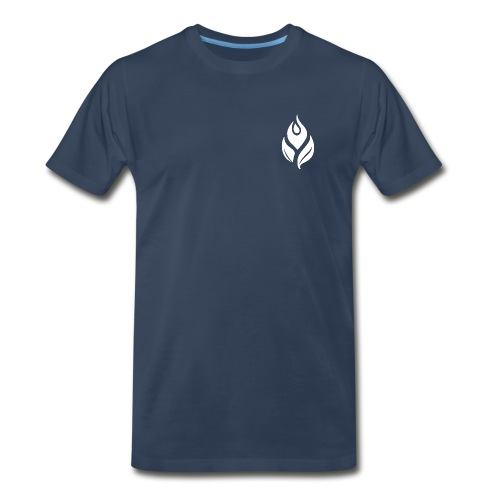 Male Navy T-Shirt - Men's Premium T-Shirt