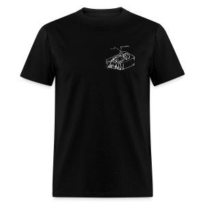 I Support FuzzTalkRadio Dot Com - Men's T-Shirt