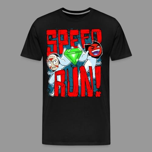 Premium Men's Speed Run! Tee - Men's Premium T-Shirt