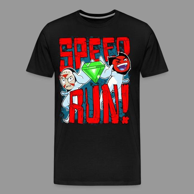 "Premium Men's ""Speed Run!"" Tee"